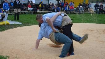 Auch dieses Jahr sind im Guggibad spannende Zweikämpfe zu erwarten. (Archiv)