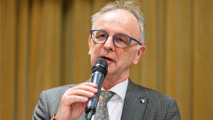 Pierre Dalcher, Präsident der Bezirkskirchenpflege