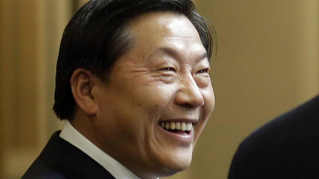 Chinas früherer oberster Internetwächter Lu Wei muss wegen Korruption ins Gefängnis. (Archivbild)