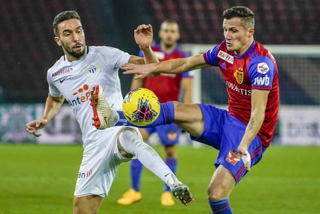 Am Dienstag hätte der FC Basel den FC Zürich empfangen. Das Spiel muss nun aber nach einem positiven Coronatest beim FCZ abgesagt werden.