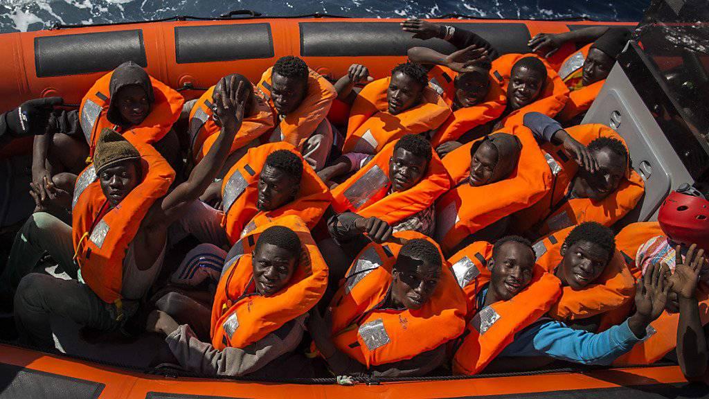 Die mehr als 150 vermissten Flüchtlinge wurden gerettet und sind nicht ertrunken, wie zunächst befürchtet. (Symbolbild)