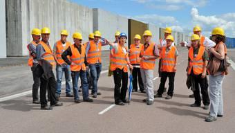 Zu Besuch im französischen Atommüll-Lager