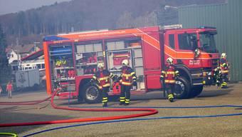 Die Regiowehr Suhrental hat am Samstag ihr neues Tanklöschfahrzeug eingeweiht.
