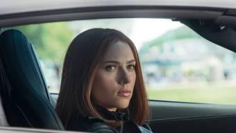 """Scarlett Johansson in einer Szene des Films """"Captain America"""""""