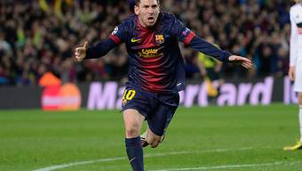 Furioser Jubel bei Lionel Messi
