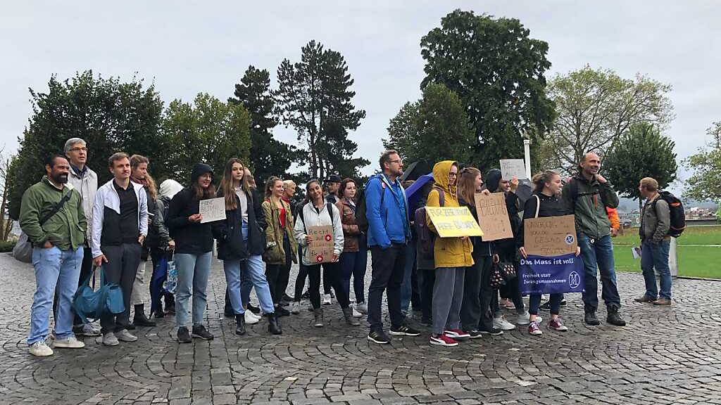 Kaum Protest gegen Zertifikatspflicht an Schweizer Universitäten