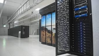 Am Dienstag hat Meteo Schweiz den neuen Rechner vorgestellt. Er steht im Nationalen Hochleistungsrechenzentrum in Lugano.