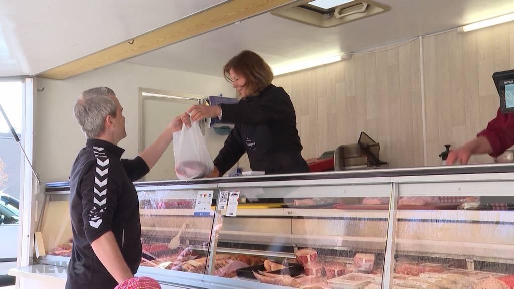 Während Coronakrise: Metzgerei muss neue Wege gehen