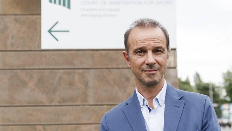 Yverdons Präsident Mario Di Pietrantonio hat keine Freude am Urteil des CAS