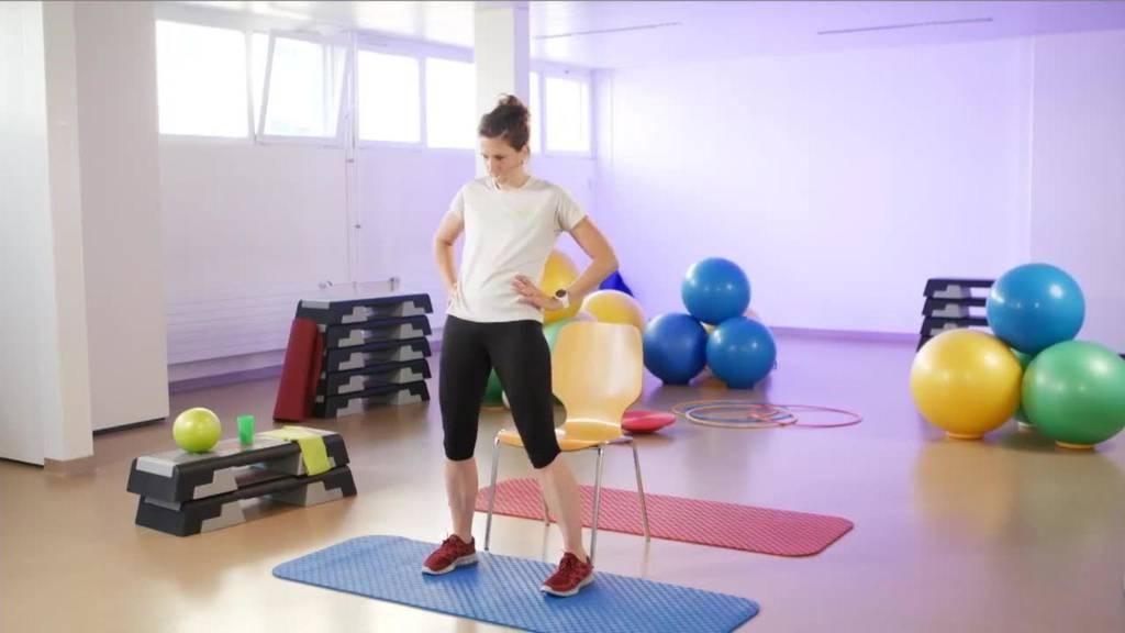 «Gymnastik im Wohnzimmer» vom 13. September 2021