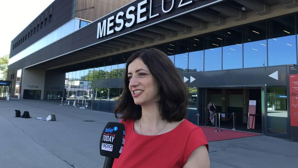 Kantonsparlament Luzern mit erster Seconda als Präsidentin