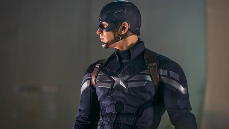 """Schauspieler Chris Evans als """"Captain America"""" lässt mit dem gleichnamigen Kinohit bei Walt Disney die Kassen klingeln."""