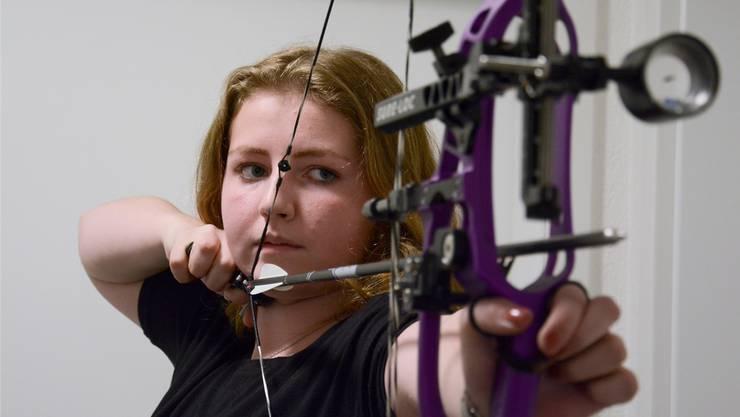 Janine Hunspeger hofft, dereinst Olympische Spiele ins Visier nehmen zu können.