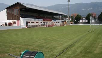 Die ganz dürren Zeiten sind im Stadion Solothurn fürs Erste vorbei.