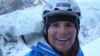 Eines der letzten Fotos des Bergsteigers Cedric Hählen, aufgenommen auf dem Gasherbrum 1 in Pakistan.