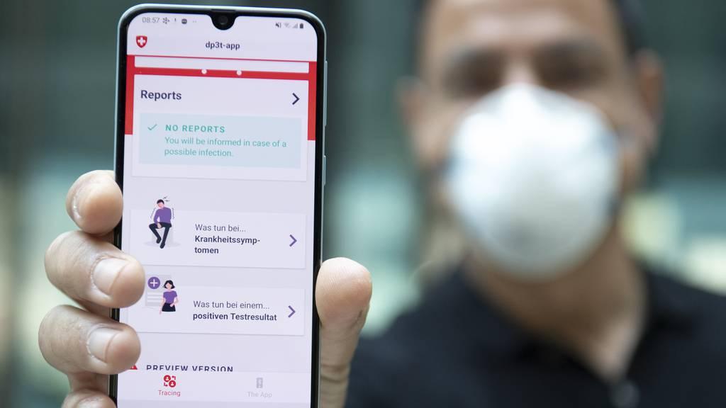 Mit Swiss-Covid-App erstmals unerwarteteCoronafälle entdeckt