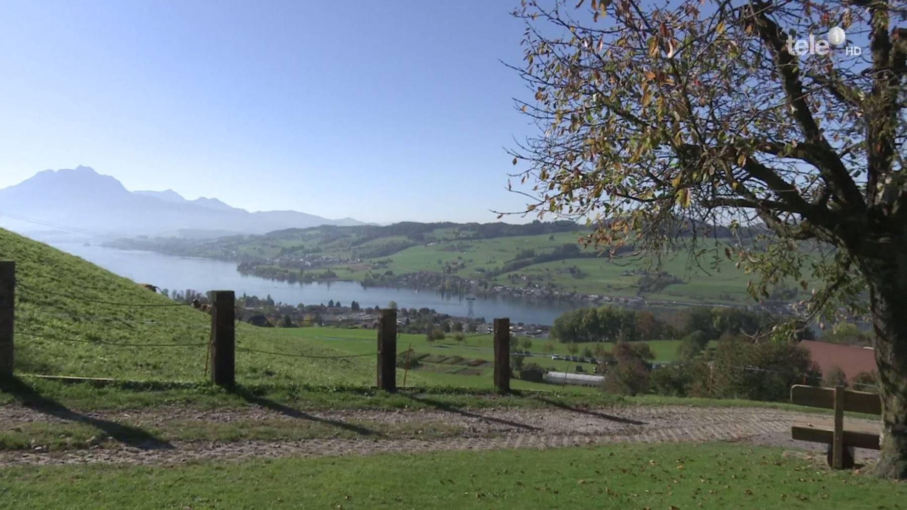 Zentralschweiz: Freizeitangebote profitieren vom schönen Herbstwetter