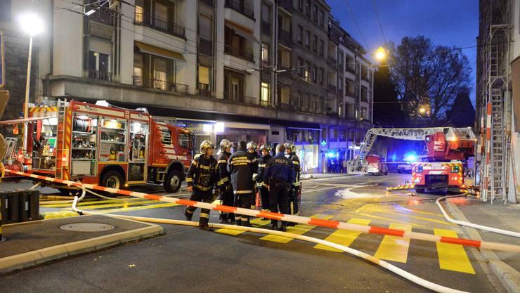 Zum Brand kam es an der Rue du Valentin im äthiopischen Restaurant Lalibela