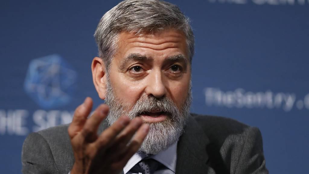 Clooney will norditalienischer Wahlheimat nach Unwetter helfen