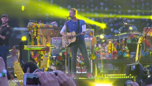 Coldplay rocken Letzigrund