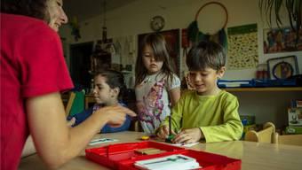 Projekt für sprachliche Förderung von fremdsprachigen Kindern. (Symbolbild)