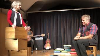 In der Theateria Dietikon feierte das Stück «Tabula rasa» Premiere