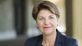 Die Walliser CVP-Nationalrätin Viola Amherd will für die Nachfolge von Bundesrätin Doris Leuthard kandidieren.