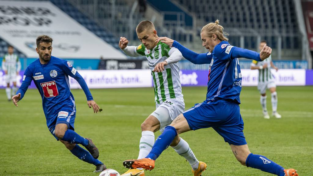 Starker FCL spielt gegen St. Gallen 2:2 unentschieden