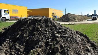 Der infolge reger Bautätigkeit anfallende Humus soll nicht auf einer Deponie landen, sondern landwirtschaftliche Flächen aufwerten. (Themenbild)