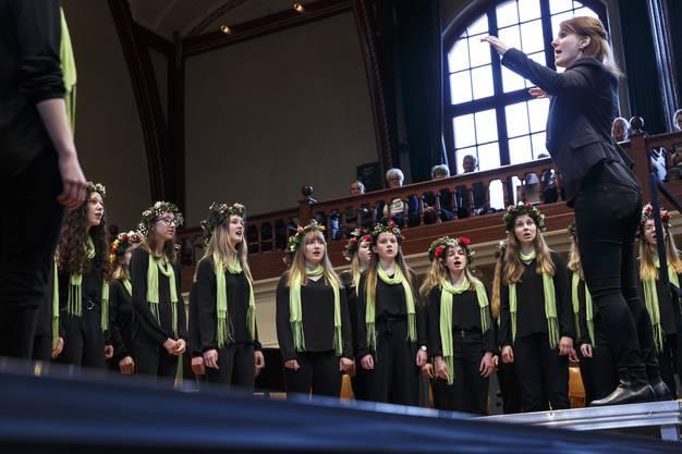 Classionata 2019. Sonntags-Matinée: Solothurner Mädchenchor unter der Leitung von Lea Pfister-Scherer