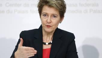 Will härtere Strafen: Bundesrätin Simonetta Sommaruga.