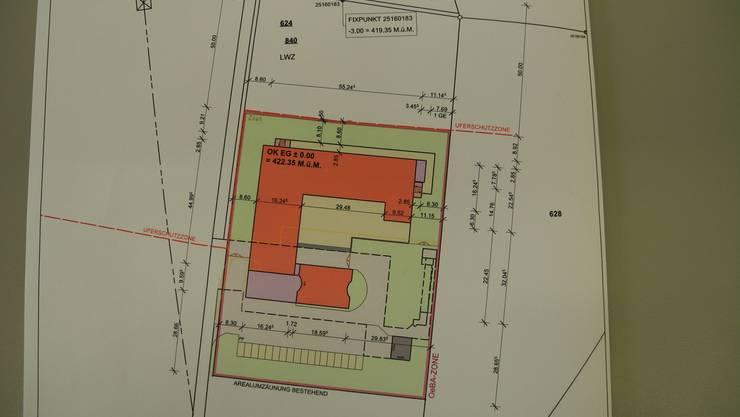 Pläne für das Bundesasylzentrum in Flumenthal