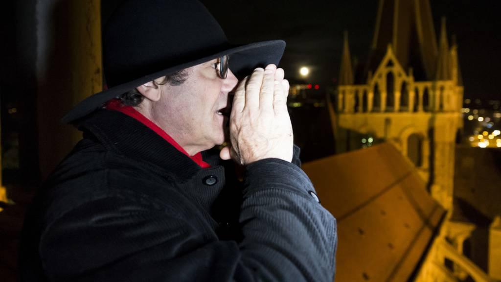 Nachtwächter in Lausanne schlägt symbolisch Alarm wegen Coronavirus