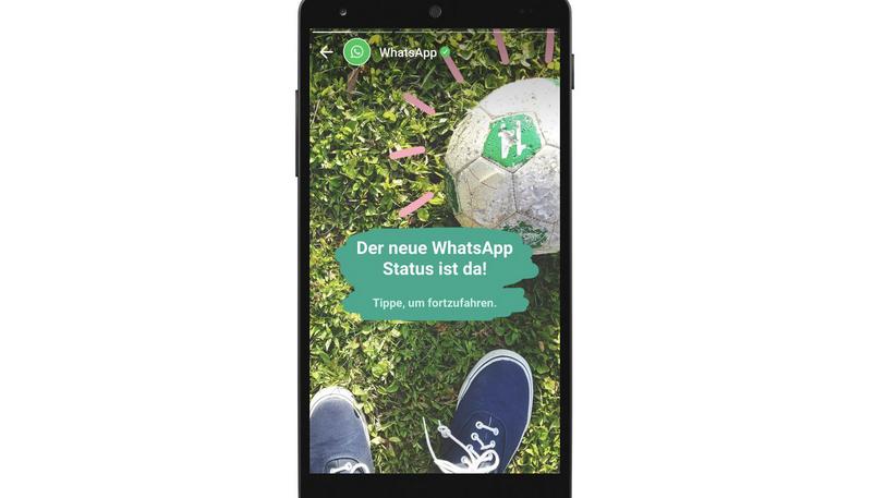 Vernetzt: Mit WhatsApp zurück in die Zukunft