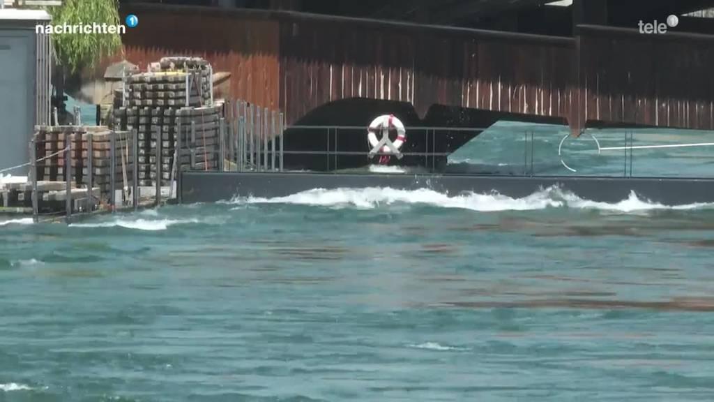 Der erweiterte Hochwasserschutz hat Schlimmeres verhindert