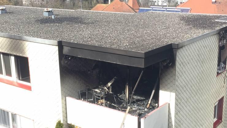 Wohnungsbrand in Neuenhof: Die Meldung ging am Dienstagmittag ein.