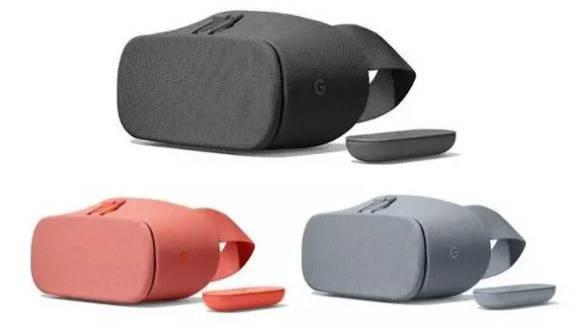 Die VR-Brille Daydream View kommt in neuen Farben.