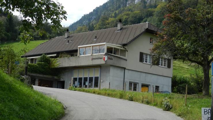 Das Gemeindehaus in Balm bei Günsberg.