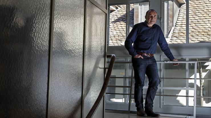 Schaut lieber «Aktenzeichen XY» als «Tatort»: Daniel Puntas Bernet. Christian Pfander