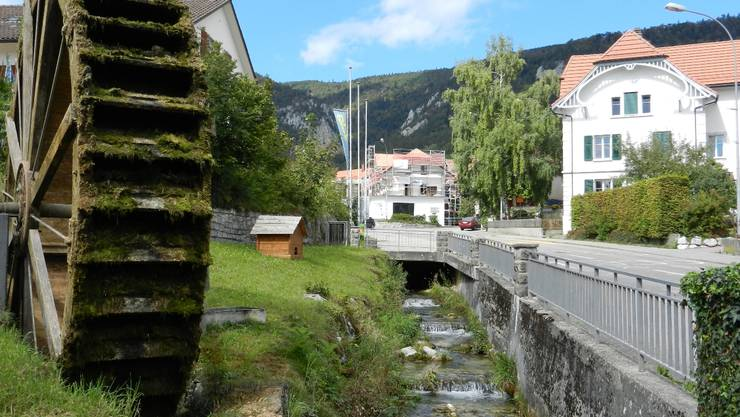 In Oberdorf werden die Ortsdurchfahrt und die Eindolungen des Wildbachs saniert – die Planungen beginnen nächstes Jahr, die Bauarbeiten 2014.  rahel meier