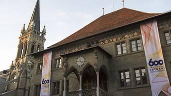 SP und Grüne wollen im Berner Rathaus wieder das Sagen haben. Die beiden Parteien spannen für die Regierungsratswahlen 2018 zusammen und streben einen Machtwechsel an.