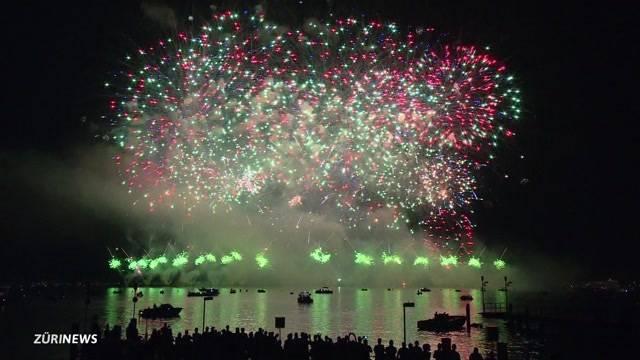 Highlights vom Freitags-Feuerwerk