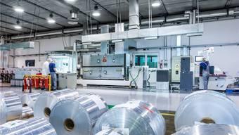 Mit dem Börsengang soll weiteres Wachstum finanziert werden: Aluflexpack-Werk in Zadar, Kroatien.