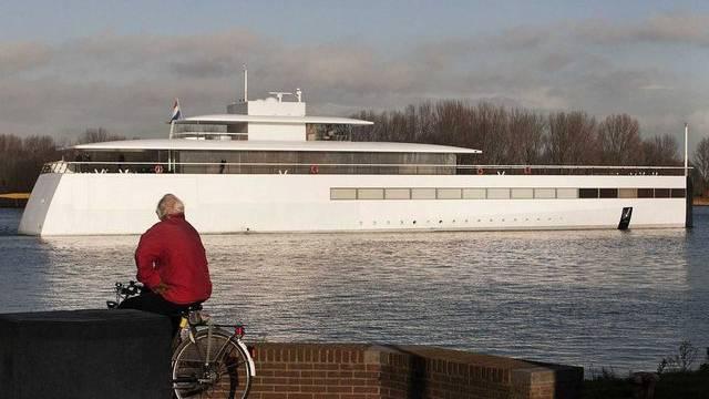 Die Yacht des verstorbenen Apple-Gründers Steve Jobs (Archiv)