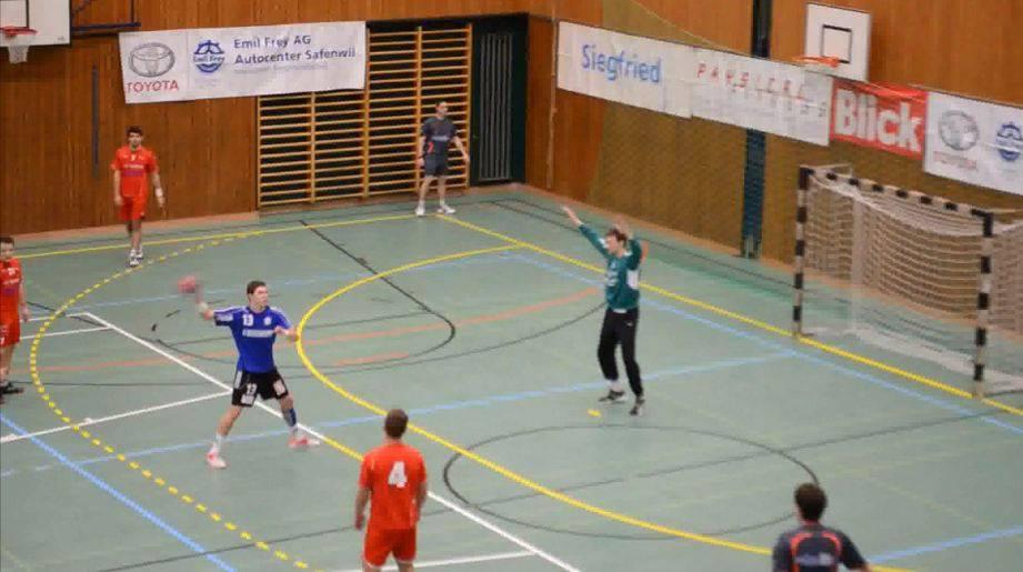 Handball TV Zofingen gegen Siggenthal Vom Stein