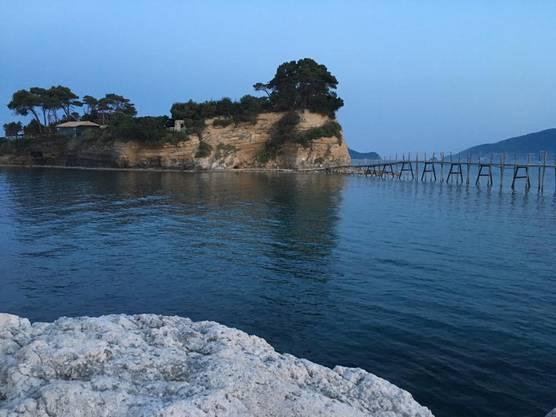 Wunderschöne Insel Cameo Zakynthos Griechenland