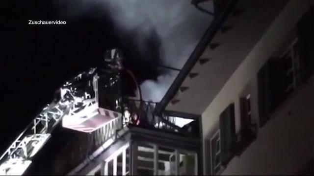 Toter bei Zimmerbrand in Olten