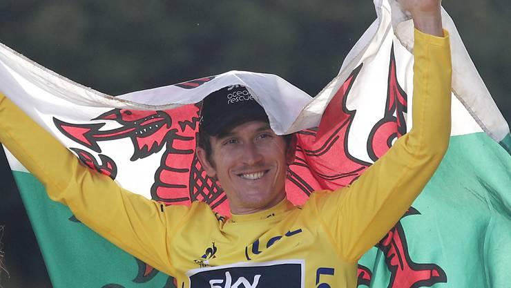 Fährt drei weitere Jahre für Sky: Der Waliser Geraint Thomas, Gewinner der Tour de France 2018