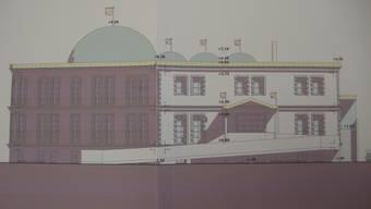 So soll die geplante Moschee aussehen.