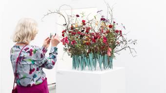 «Blumen für die Kunst» zog 2018 gut 17'000 Besucher an. Archiv